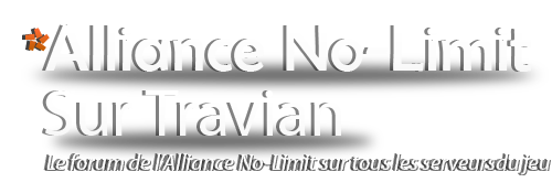 alliance no-limit Index du Forum