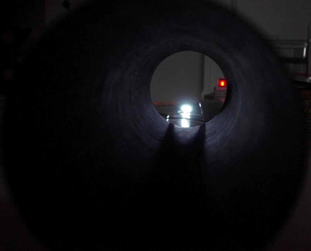 Flocage du tube du coq noir