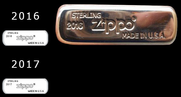 silver - [Datation] Les Zippo Sterling Silver Bottom-2016-2017-523c3cb