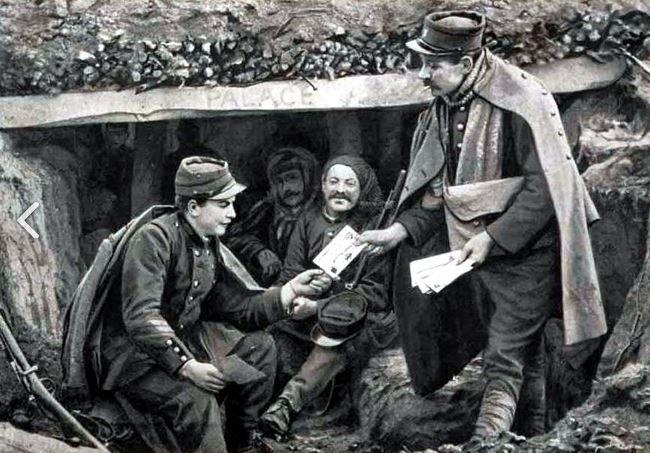 Histoire de la Poste aux armées depuis ses origines. Vaguemestre-52f5a5a