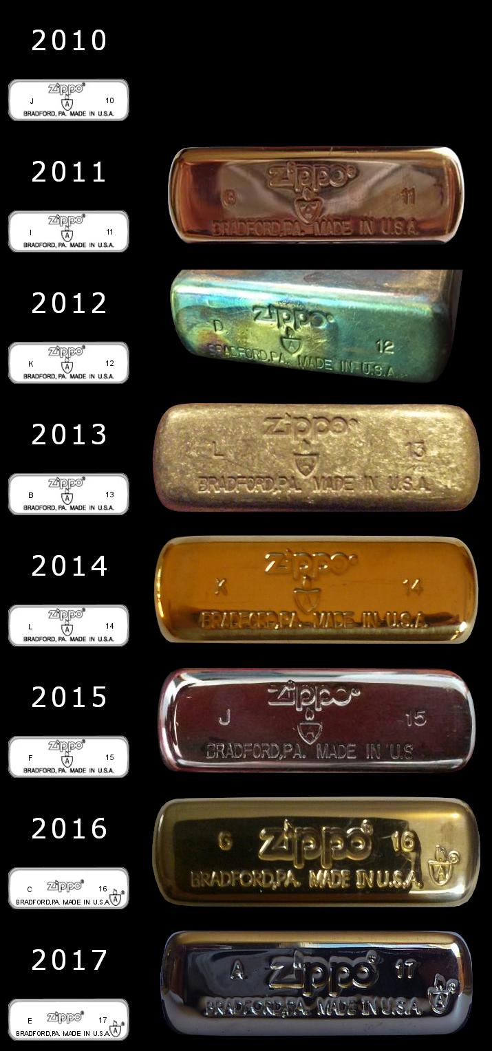 [Datation] Les Zippo Armor Case Regular-2010-2017-528201b
