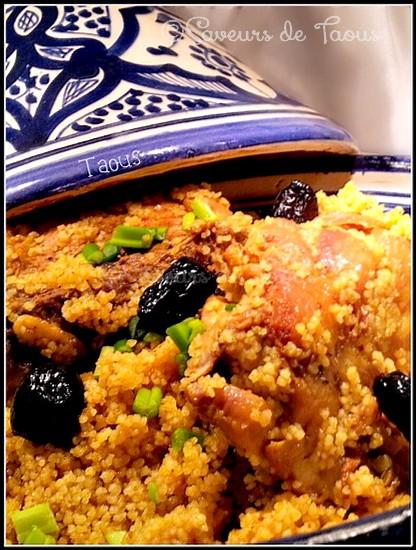 Tagine de couscous au poulet et aux olives les saveurs for Vivolta cuisine