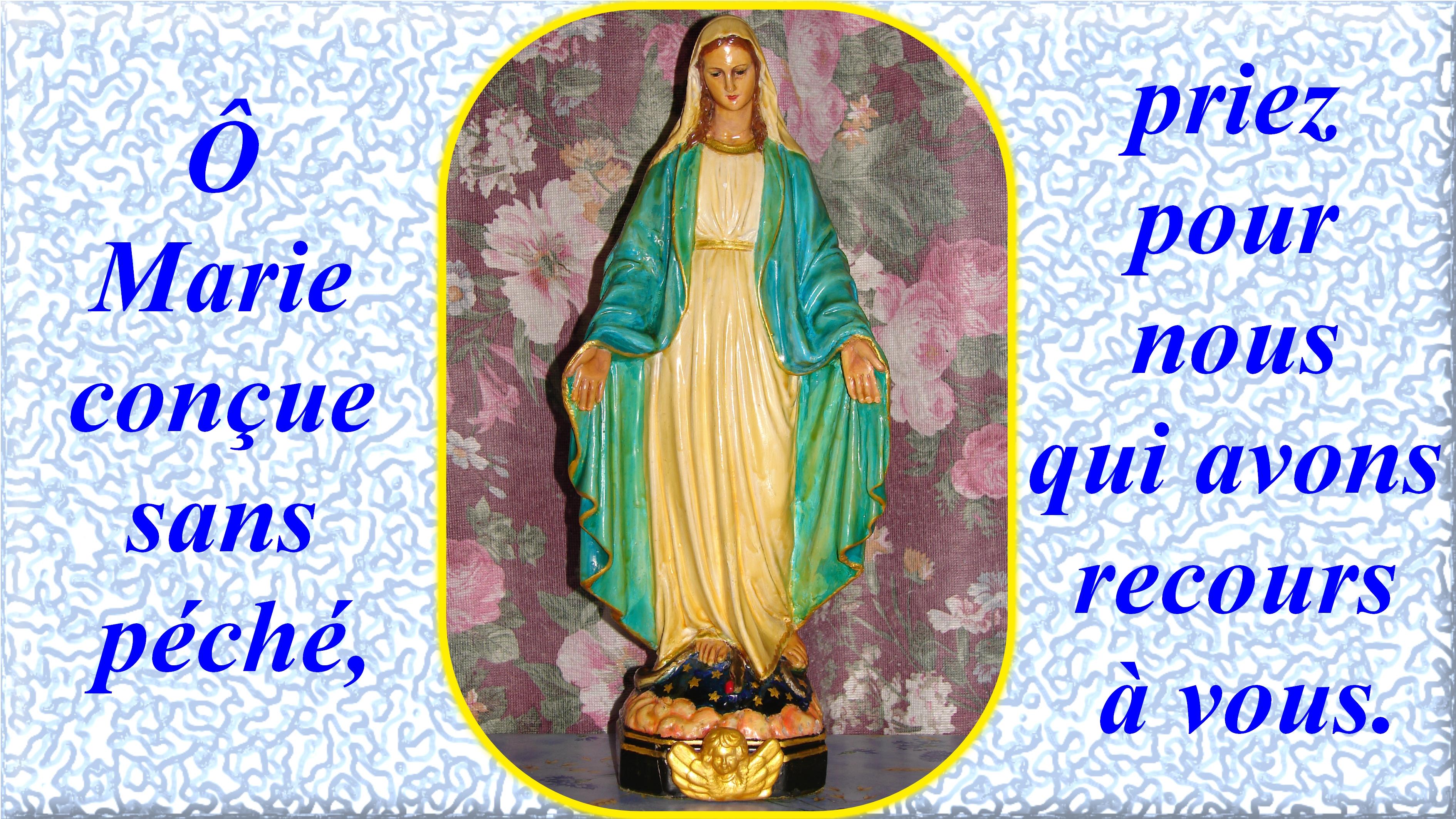 NEUVAINE à la Très Sainte Vierge MARIE (Saint Alphonse de Liguori) L-immacul-e-conception-55605d5