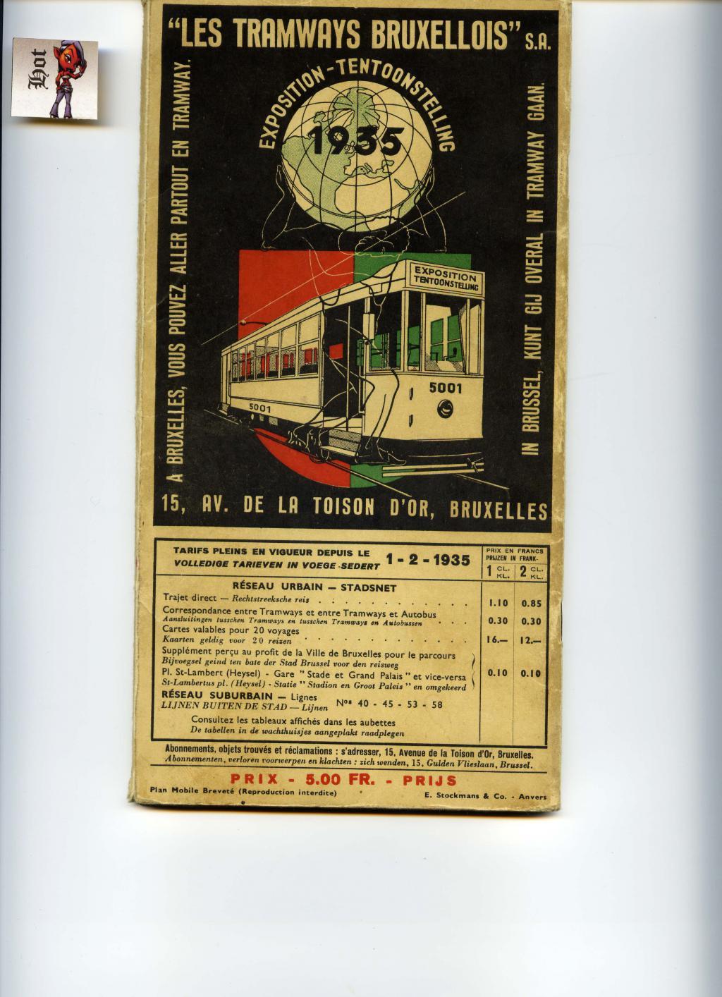 Horaires des trams Bruxellois . Expo de 1935 Tram-brux-54c330e