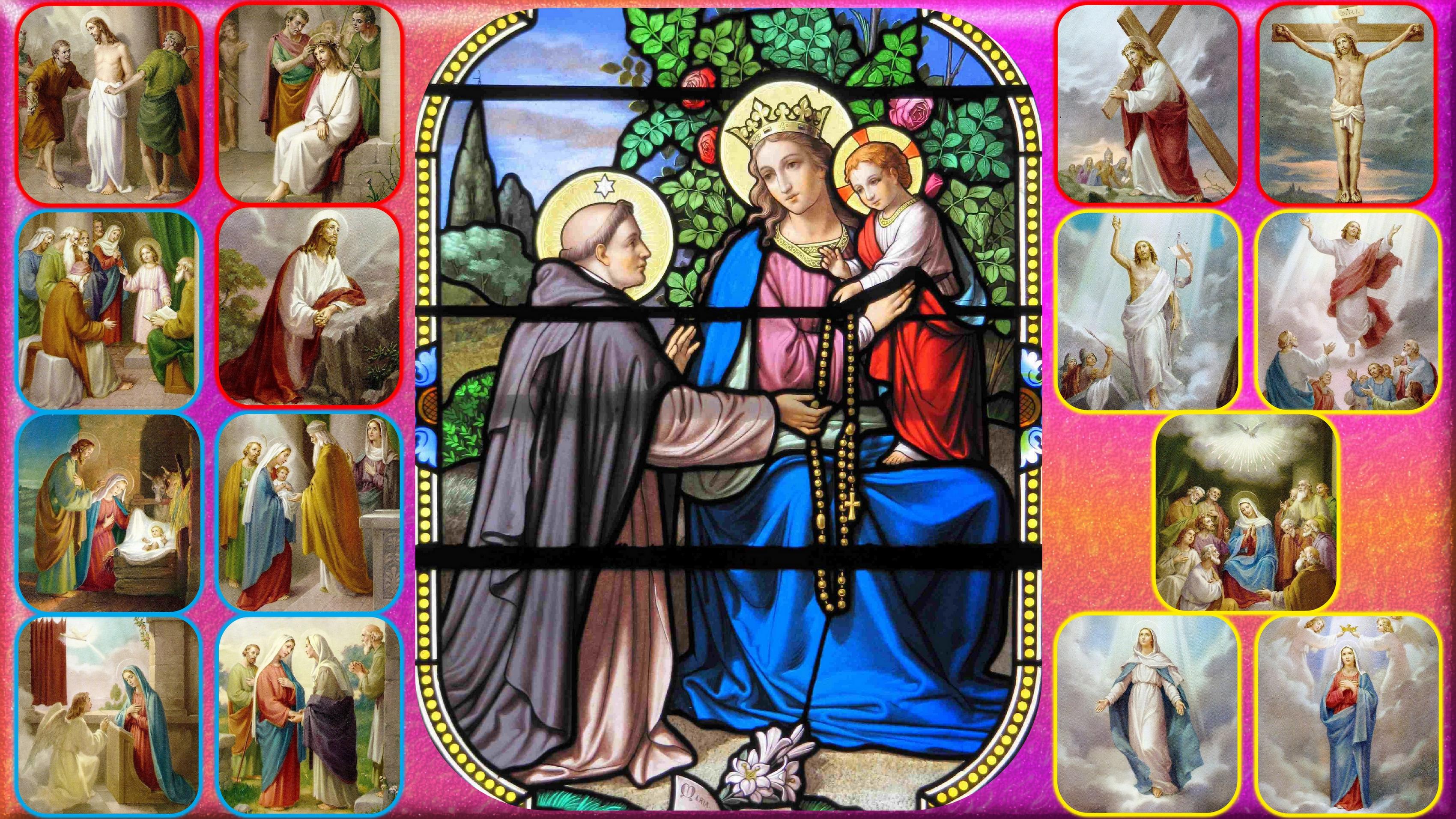 Le Rosaire en Images Notre-dame-enseig...-rosaire-5579c14