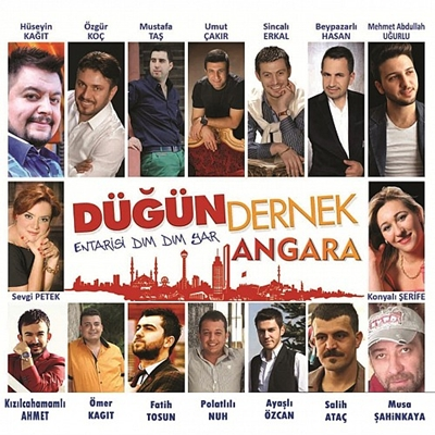 �e�itli Sanat��lar - D���n Dernek Angara (2014) Full Alb�m indir