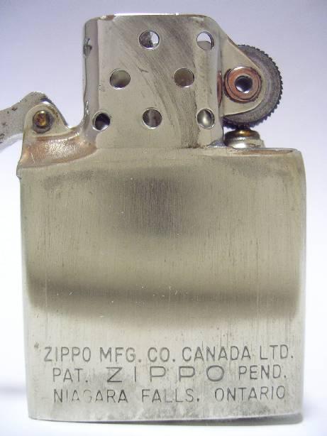 [Datation] Les Zippo Canada (Niagara Falls, Ontario) 1949-1950-523711e
