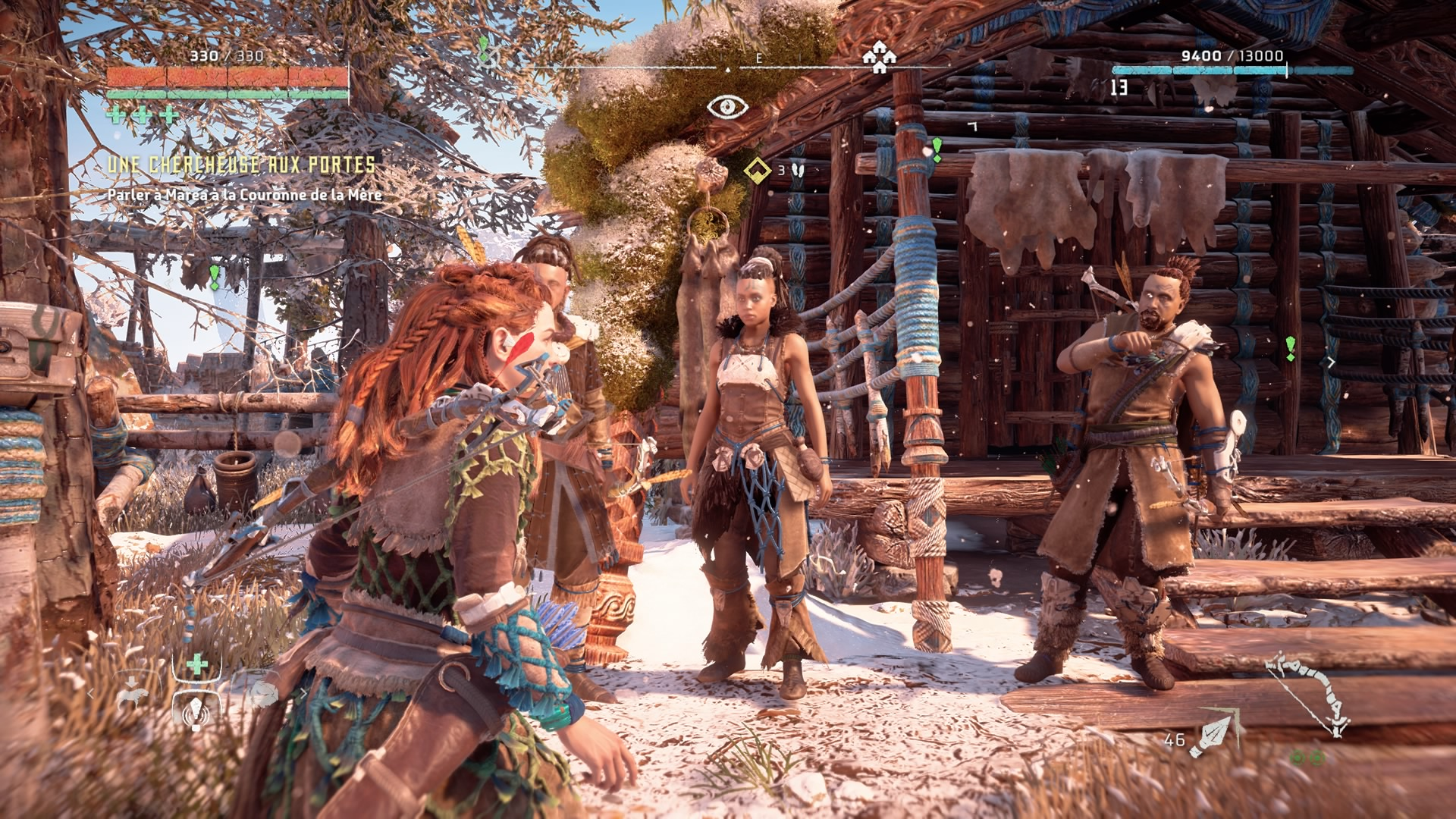 Horizon Zero Dawn corruption abattue