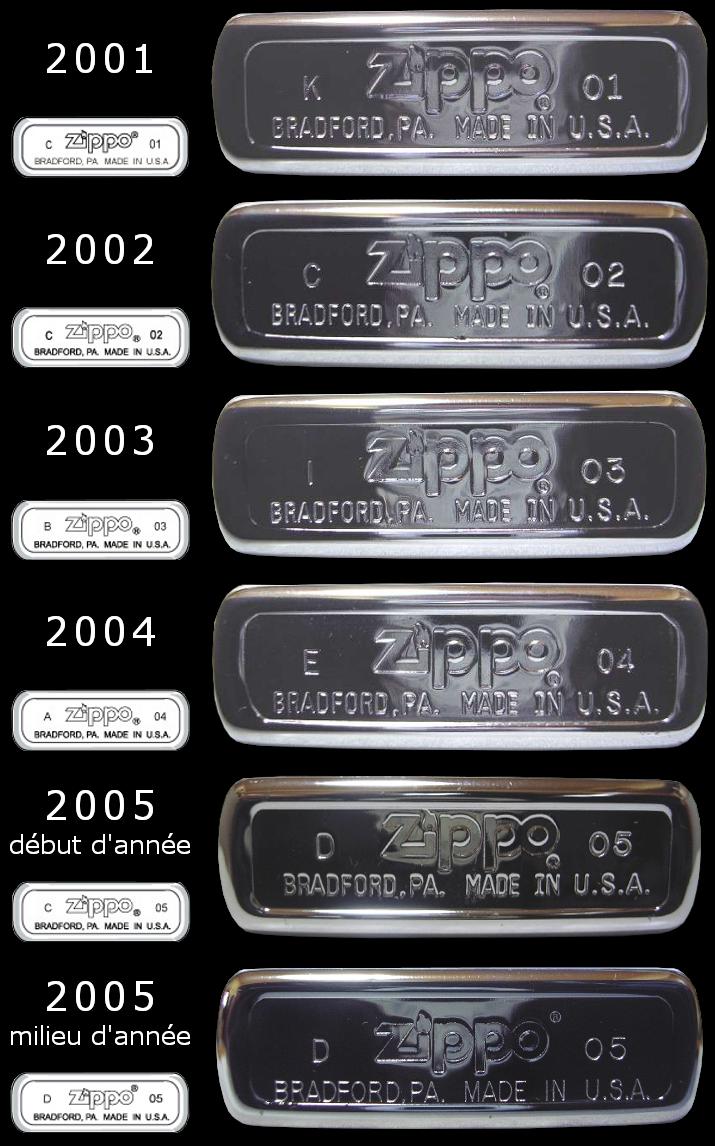 [Datation] Les Zippo Regular Regular-2001-2005-52670e3