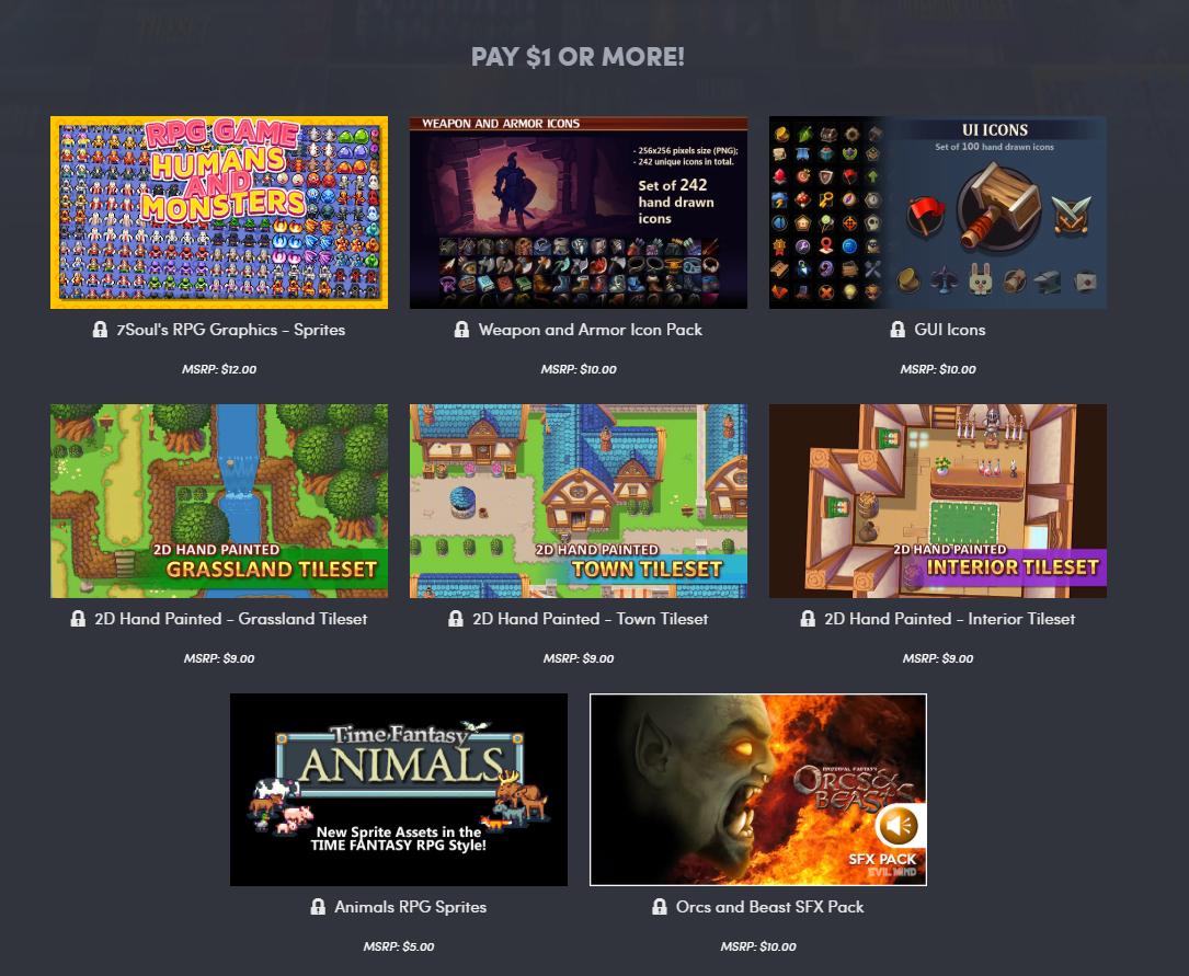 Humble Bundle - RPG Game Dev Humble-5560103