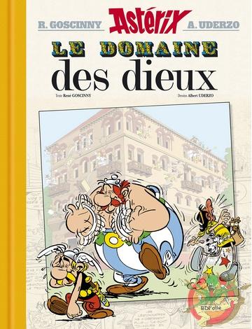 Album le domaine des dieux version spéciale et version luxe. Luxe-46d73cb