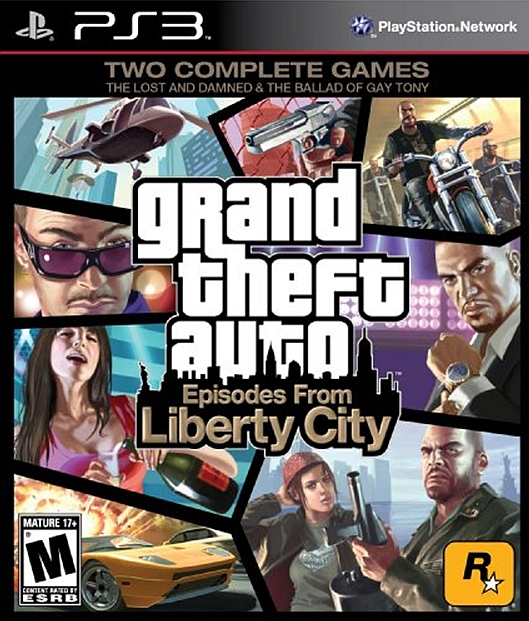 Grand Theft Auto : Episodes from the Liberty City jaquette