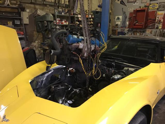 restauration corvette ou plutôt un petit lifting pour noel 8-51383db