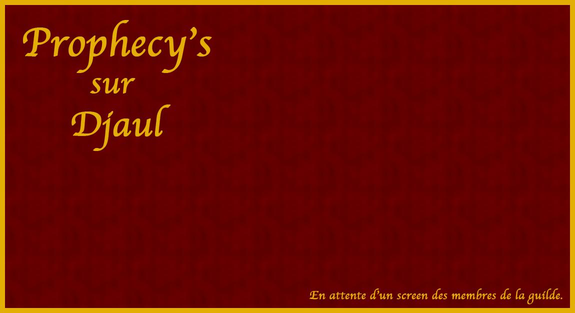 Prophecy's Index du Forum