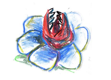 [11 Septembre 1997] Le Géranium Dentu Botanique_bleu2-5063810