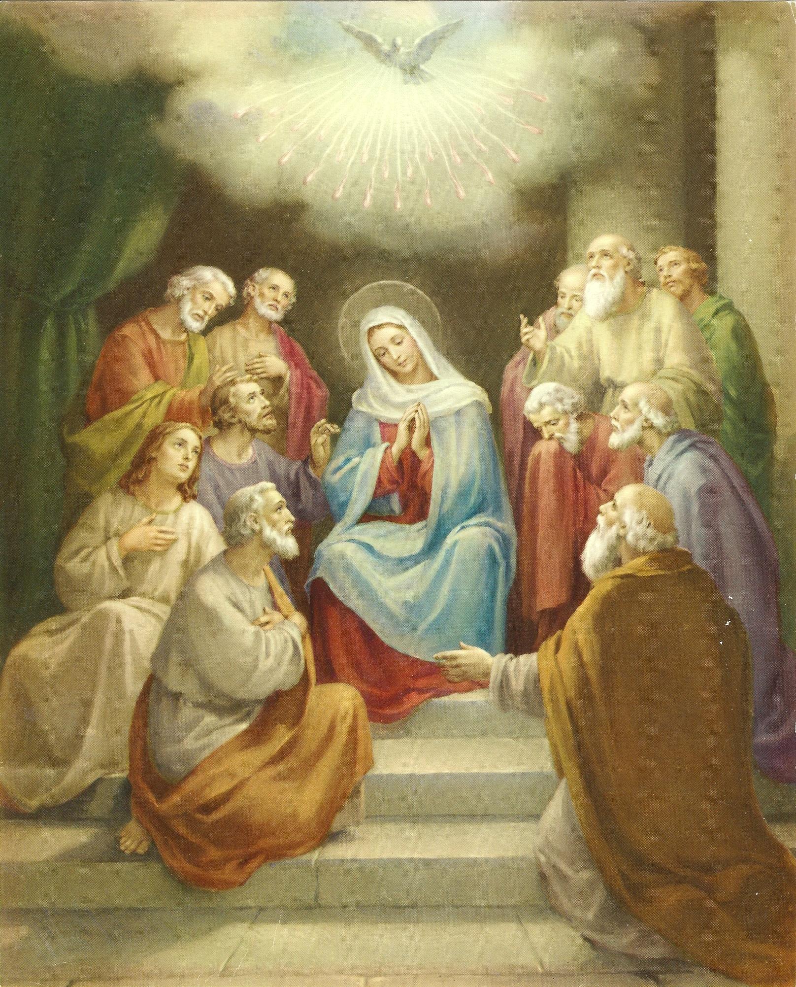Le Rosaire en Images - Page 2 13--la-pentec-te-55a30d0