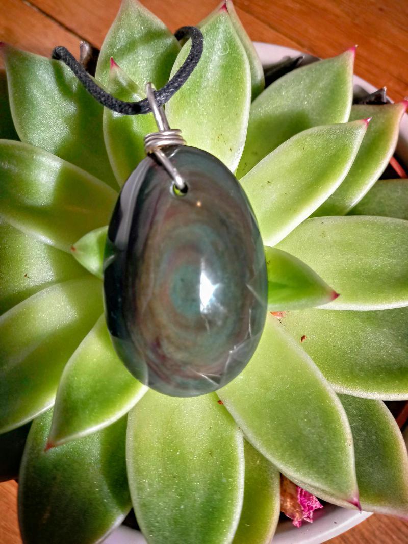 mes minéraux - Page 3 Obsidienne-540a68b