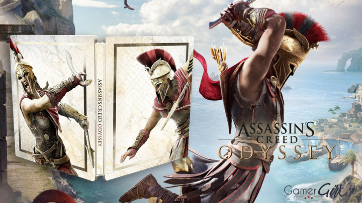 Assassin's Creed Odyssey Gold Edition Steelbook