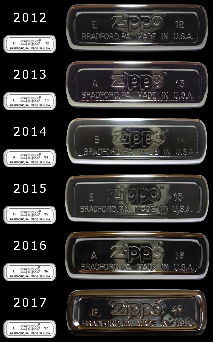 [Datation] Les Zippo Regular Regular-2012-2017-52670eb