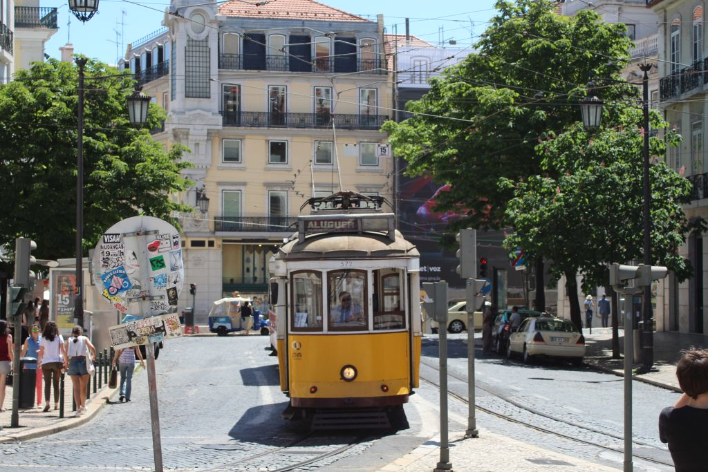 Tram de Lisbonne Tram-portugais-55e49ac