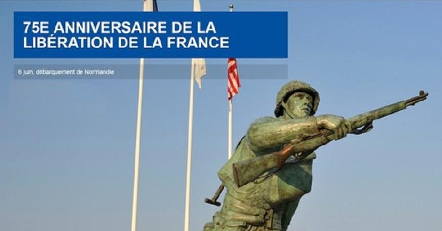 Commémorations du 75e anniversaire du débarquement de Normandie  Site-75ans-libera..._colonne-563c297
