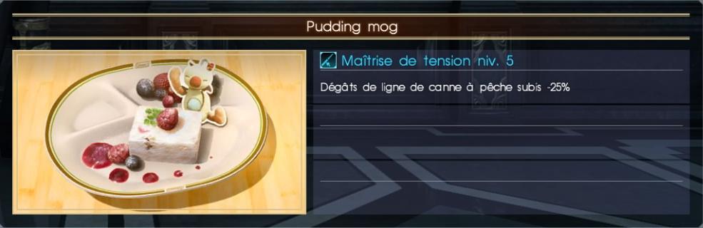 Final Fantasy XV pudding mog