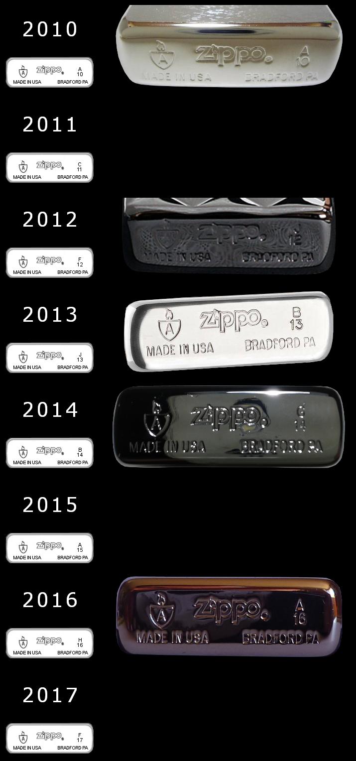 [Datation] Les Zippo Armor Case Slim-2010-2017-528204a