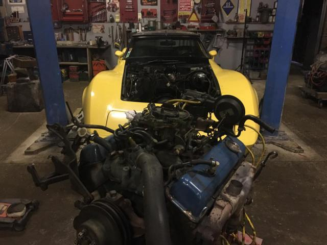 restauration corvette ou plutôt un petit lifting pour noel 6-5138401
