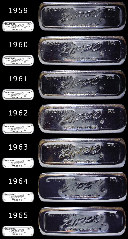 [Datation] Les Zippo Regular Regular-1959-1965-5266f3b