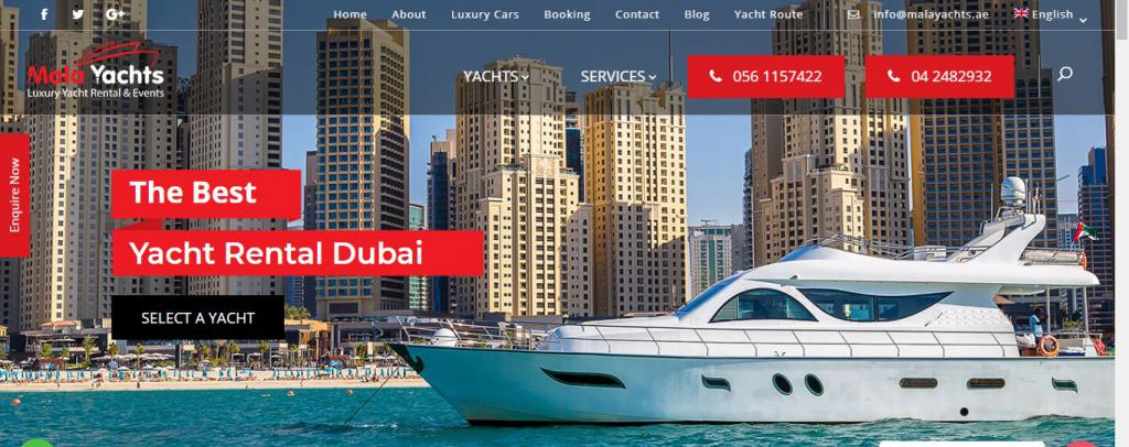 Golf Yacht Cruise In Dubai | Yacht Charter Dubai Malayachts-banner-53cacc4