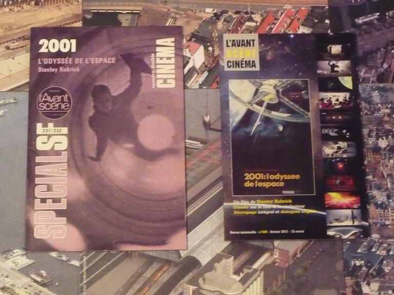 quelques livres sur 2001 odyssée de l'espace Ti16-p1230506-49741b6