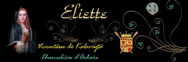 Arrivée de la Chancelière Eliette de Caelus, émissaire de la Principauté d'Achaïe... Ban-eliettevicomt...ancelier-4fecad9