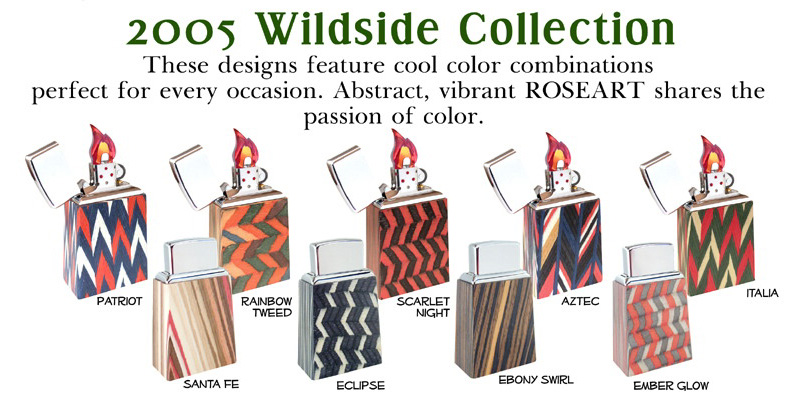 [Datation] Les Zippo Table Lighter Wildside_collection-52693a7