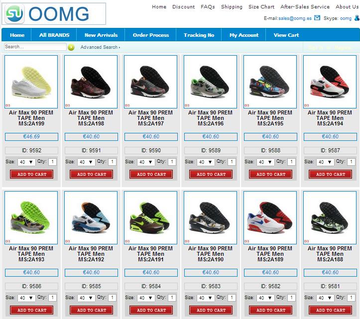 ¿Dónde comprar zapatillas nike air max baratas? Oomg-4e1439b