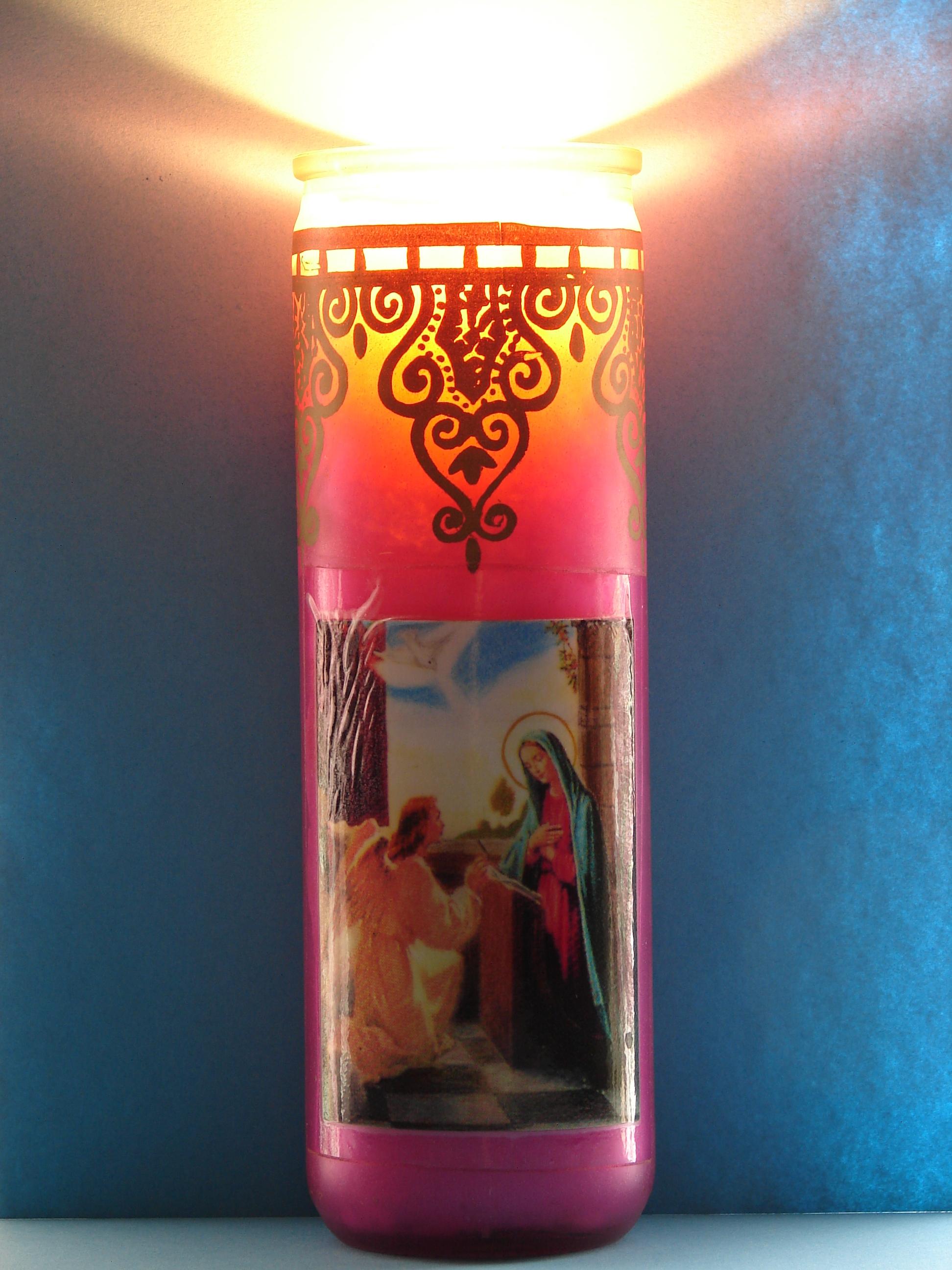 Le Rosaire en Images - Page 3 Cierge-allum-de-l...nciation-565f021