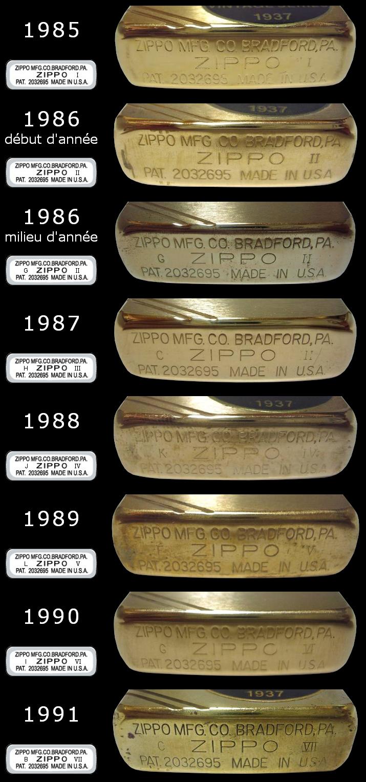[Datation] Les Zippo 1937 Replica 1985-1991-52458a8