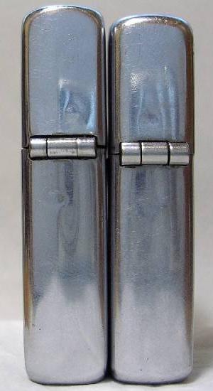 [Datation] Les Zippo Regular 1946-1947-taille-comparatif-5266df4
