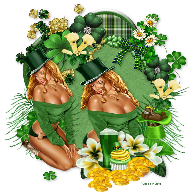 Sexy St.Patrick 727-542213a