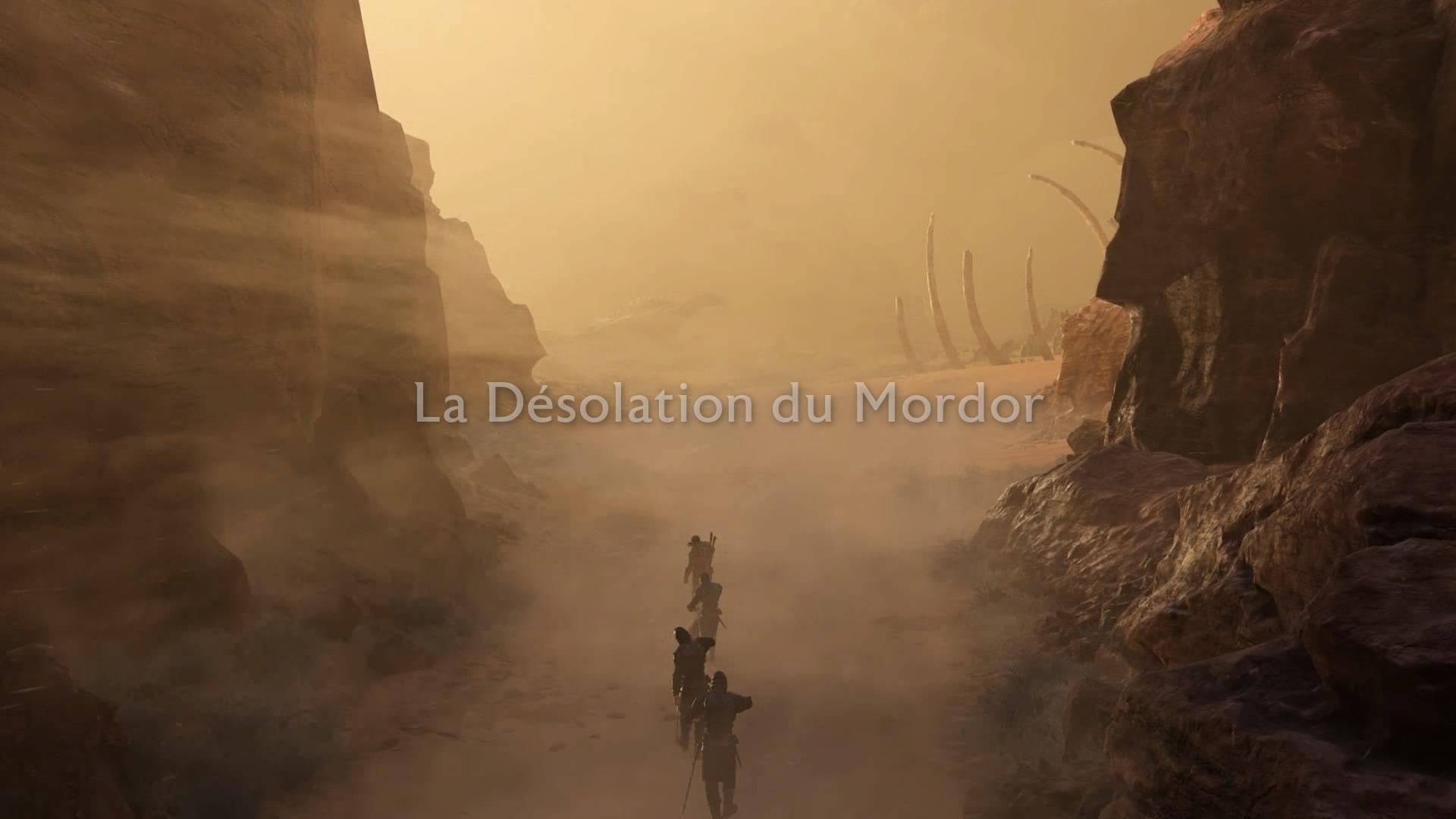 L'ombre de la guerre La désolation du Mordor
