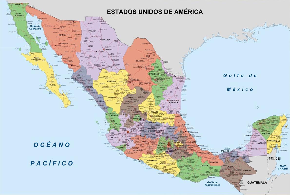 descargar mapa de mexico