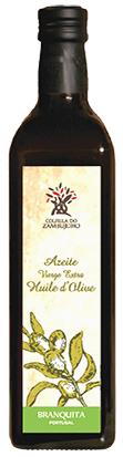 Botella de aceite portugués 0,5L, aceite de oliva Virgen extra Villalonga (Branquita)