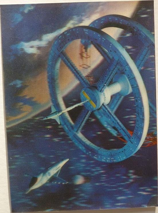 quelques livres sur 2001 odyssée de l'espace Lenticular-relief-4e8eccf