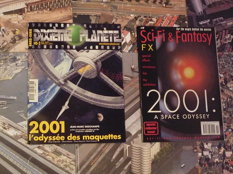 quelques livres sur 2001 odyssée de l'espace Ti17-p1230536-49741cc