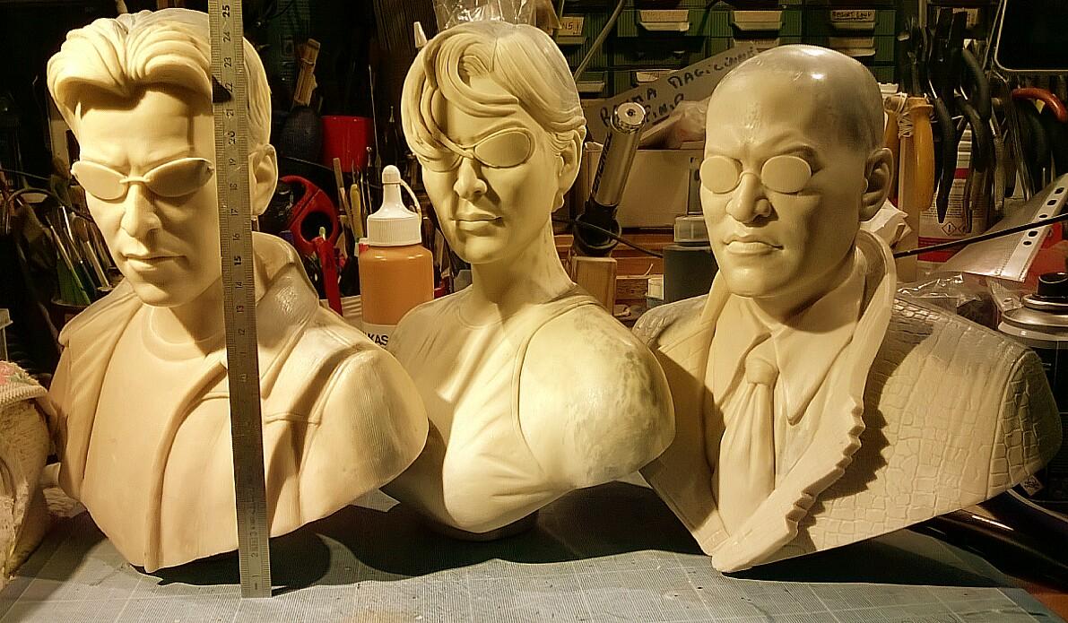Buste de matrix : Néo,Trinity,Morpheus au 1/3  Img_20160404_182653-4ef9895