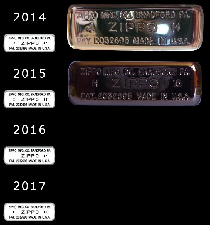 [Datation] Les Zippo 1941 Replica 2014-2017-528213f