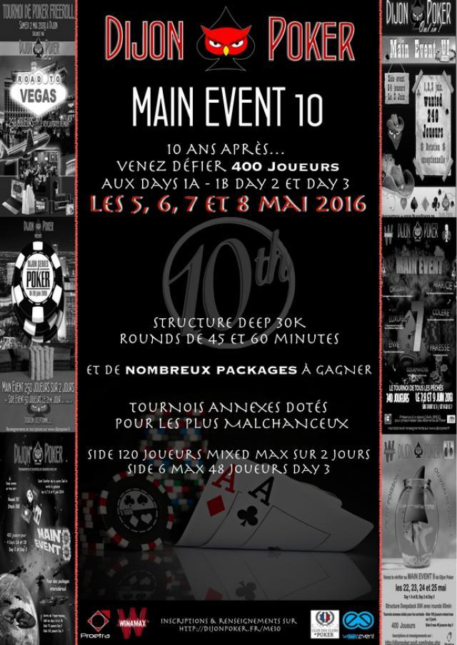 Main Event 10 de Dijon Poker - 5,6,7 et 8 mai 2016 Affiche-me10---forum-4ecb568