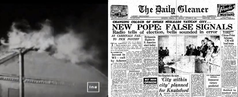 Il y a 60 ans, un vrai Pape était élu, mais... Fum-e-blanche-du-...bre-1958-554a6bc