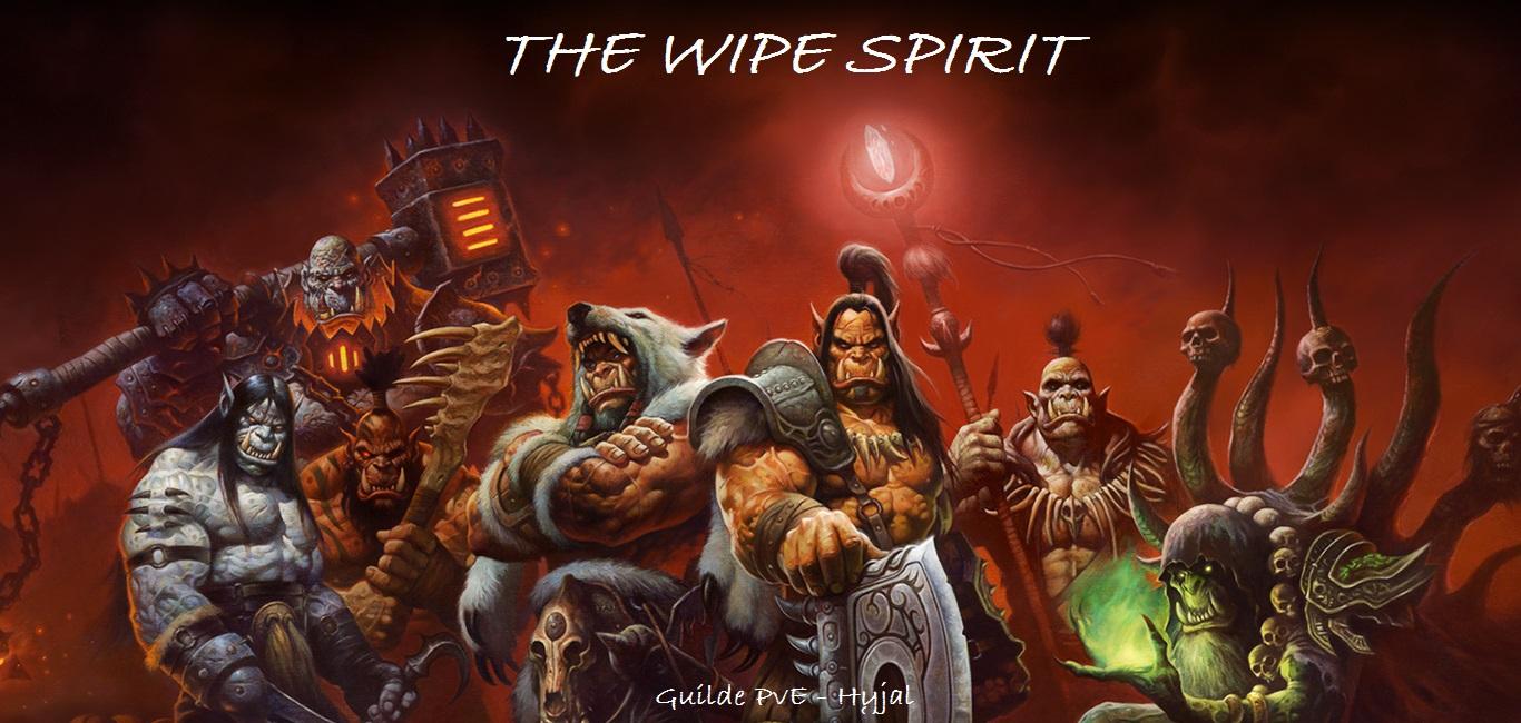 WipeSpirit Index du Forum