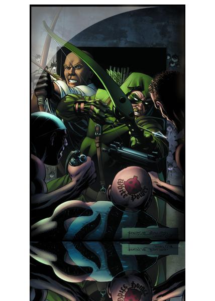 Convergence - Green Arrow Intégrale