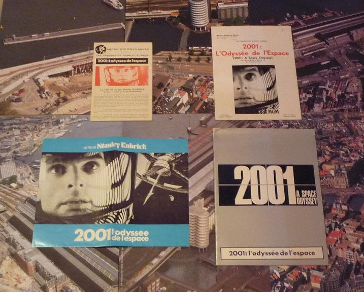 quelques livres sur 2001 odyssée de l'espace Ti32-p1220955-4974263